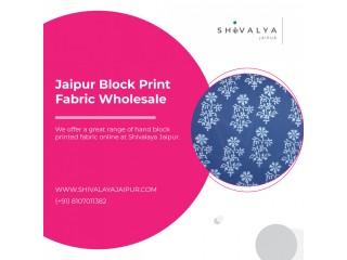 Jaipur Block Print Fabric Wholesale