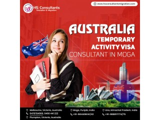 Australia Temporary Activity Visa Consultant in Moga
