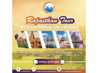 RAJASTHAN TOUR WITH KHAJURAHO AND VARANASI