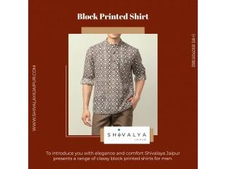Block Printed Shirt