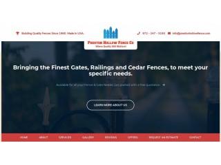 Dallas Fence Contractors Plano, Texas